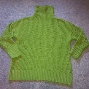 Aerie Oversized Chenille Turtleneck Sweater